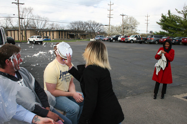 Sorry Jason, but you just got pied!