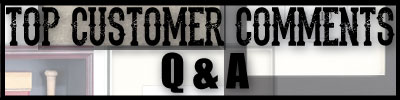 Customer Comment Banner