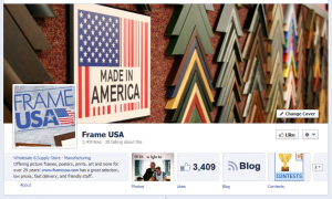 Frame USA Facebook Page