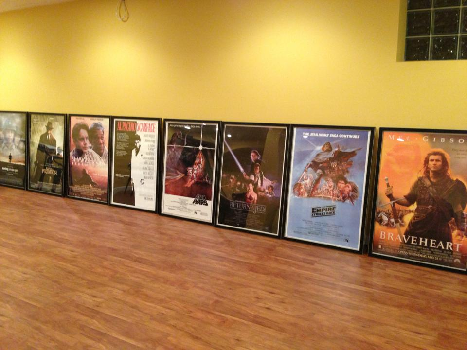 poster frames and poster sized frames