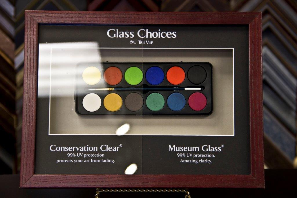 Different Types of Picture Framing Glass
