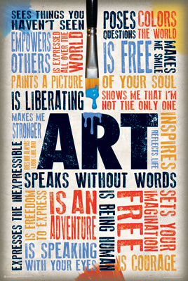 ART SPEAKS - Poster