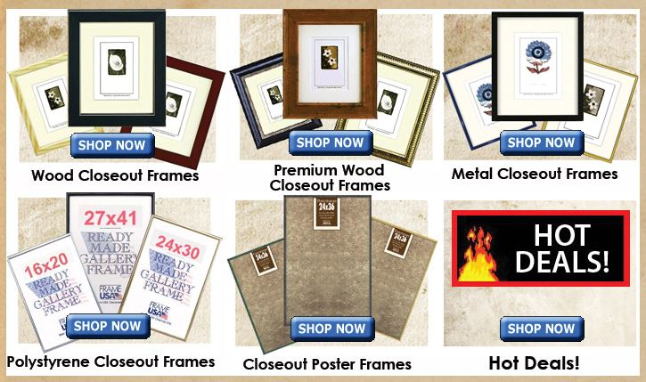 Cheap Picture Frames - High Quality Closeouts -