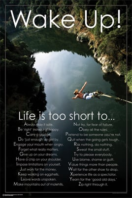 Life Is Too Short - Poster