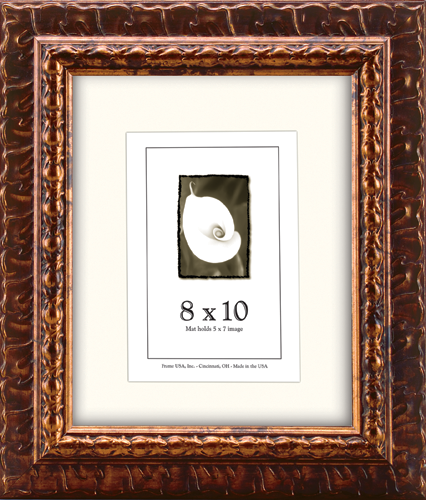 antique royal series frame - bronze