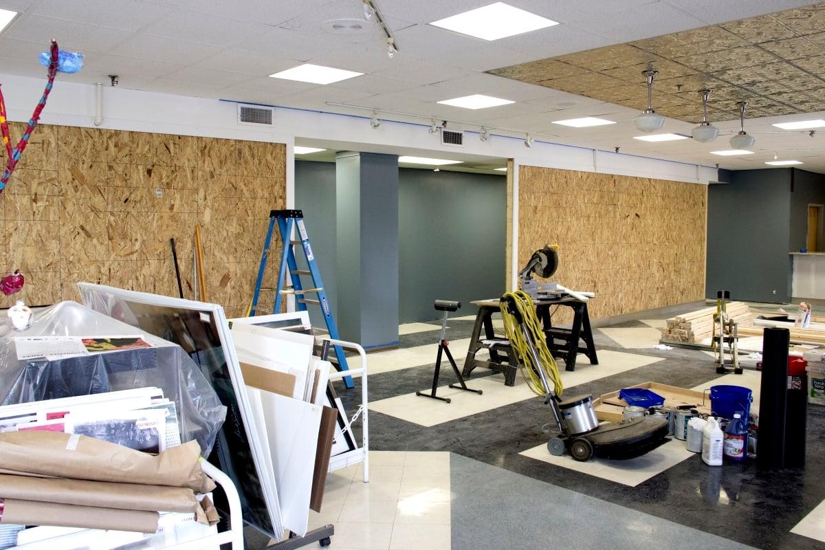 Frame Store Remodeling