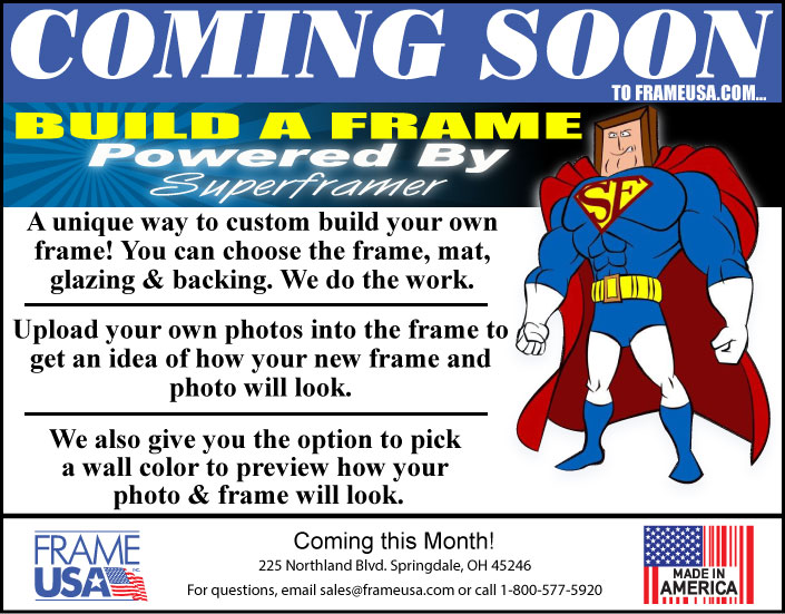 Custom Framing App