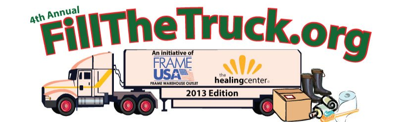 Furniture Fair joins Frame USA for Fill The Truck 2013