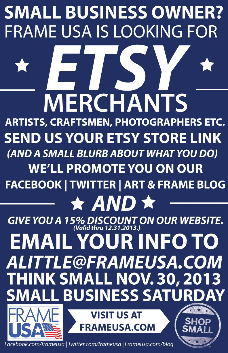 Etsy Art and DIY Creatives – We want YOU!