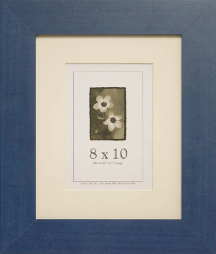Large Blue Picture Frame
