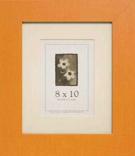 Large Orange Picture Frame