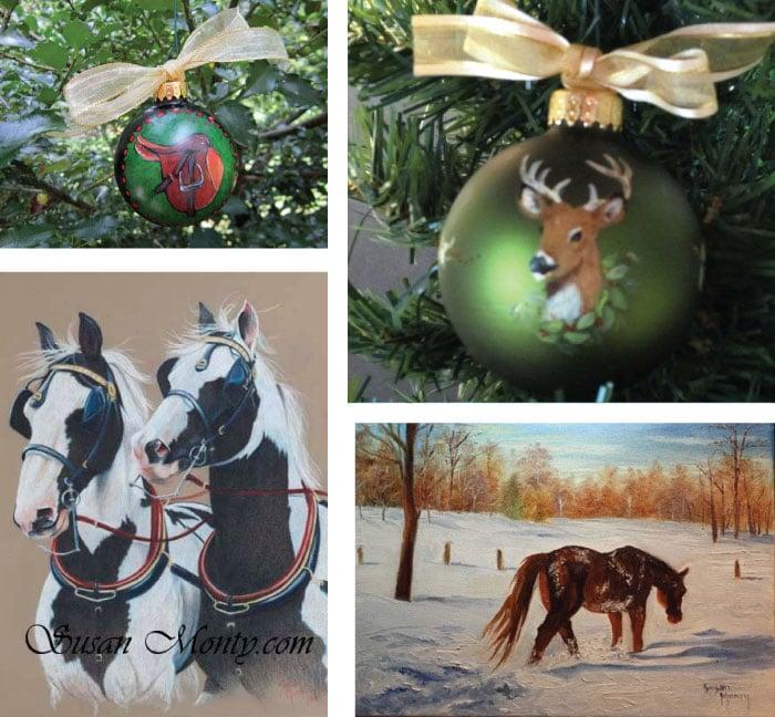 etsy art christmas