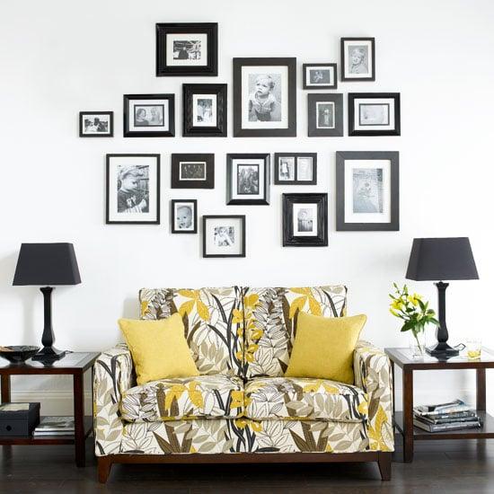 Monochrome Photo Wall