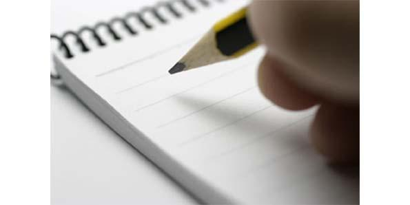 Making a list (and a plan) can be the only thing that reminds you to see your resolution to the very end. Make copies!