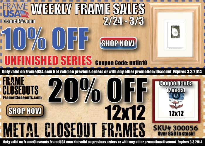 Weekly Picture Frame Sales – Are You in the Know?