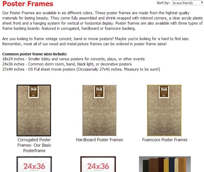 Standard Photo Sizes - Sizing your Photo Frames and Art