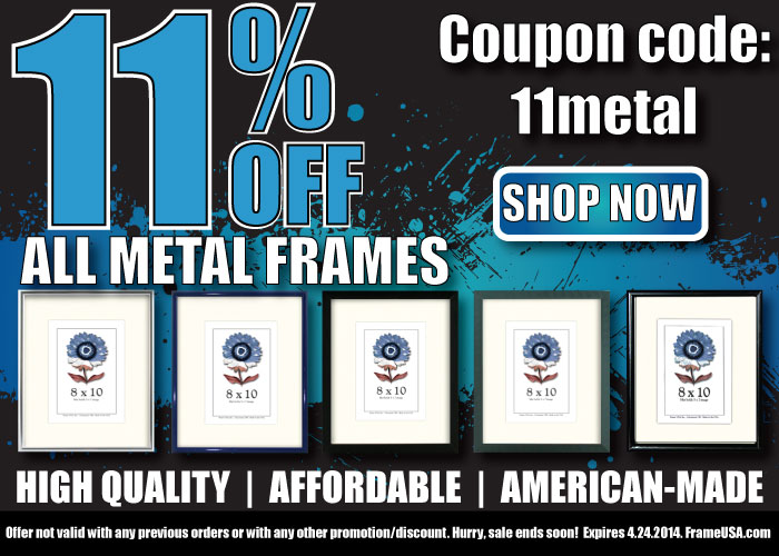 11% Off Metal Frames