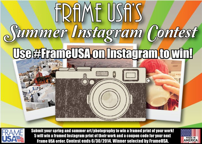 Free Frame Contest – Extended!