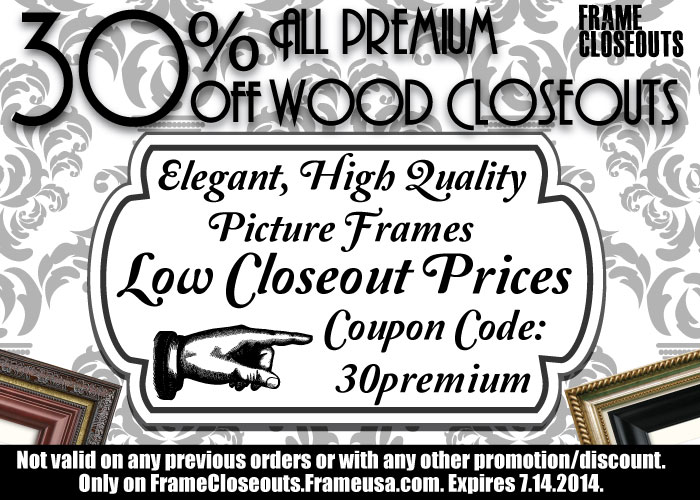 This Weekend – Save 30% on All Premium Closeouts