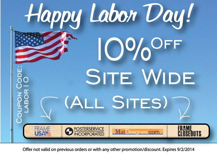 labor day sale frame usa