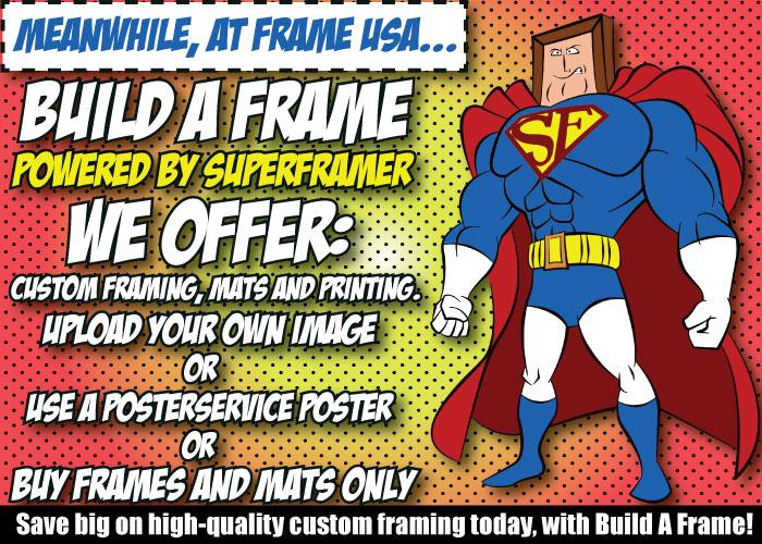 Build A Frame – Custom Framing Options and More