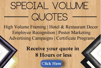 Get a FREE Quote on Picture Frames!