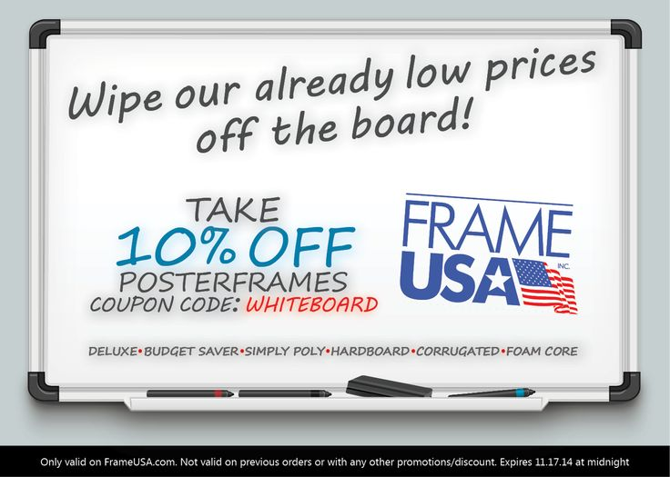 Take 10% off Posterframes with code: WHITEBOARD