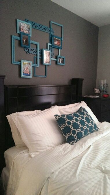 Upcycled Picture Frame Artwork Bedroom