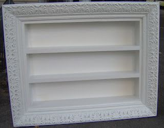 Nail Polish Rack Picture Frame Hession Hairdressing