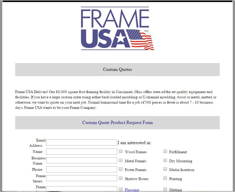 wholesale picture frames Archives - Frame USA\'s Blog