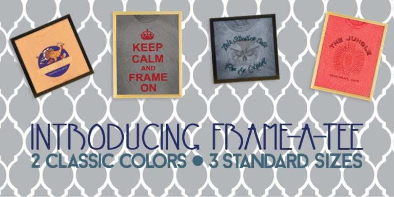 Frame A-Tee Introduction