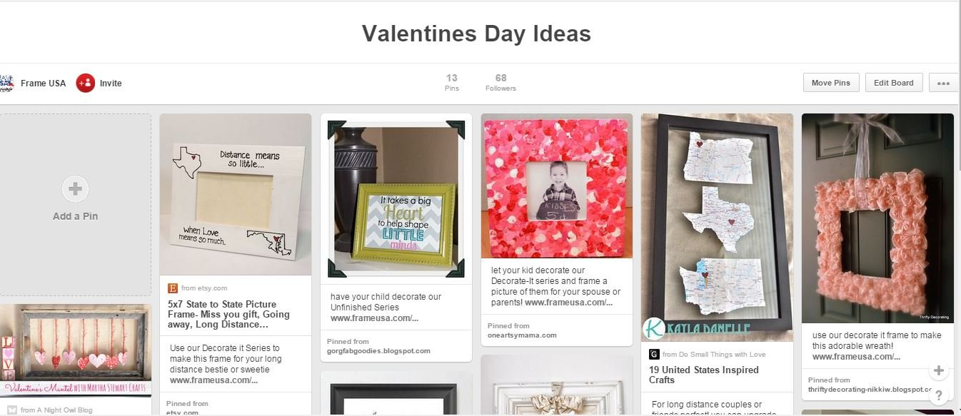 Valentines Day Ideas Pinterest Board
