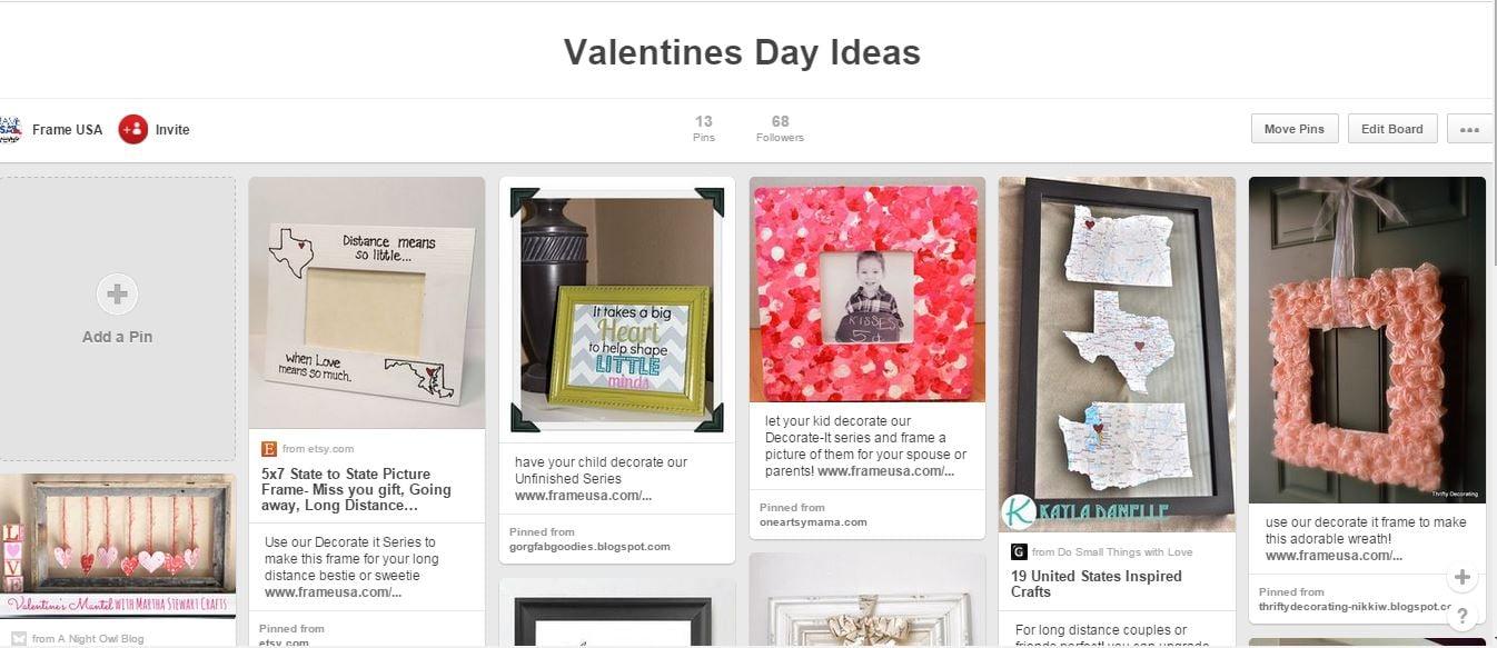 Valentines Day Ideas Pinterest Board