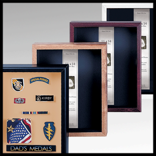 Team Shadowbox Showcase frame