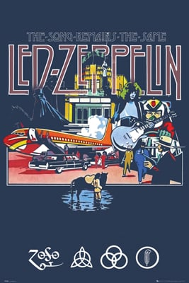 Zeppelin The Song Remains the Same