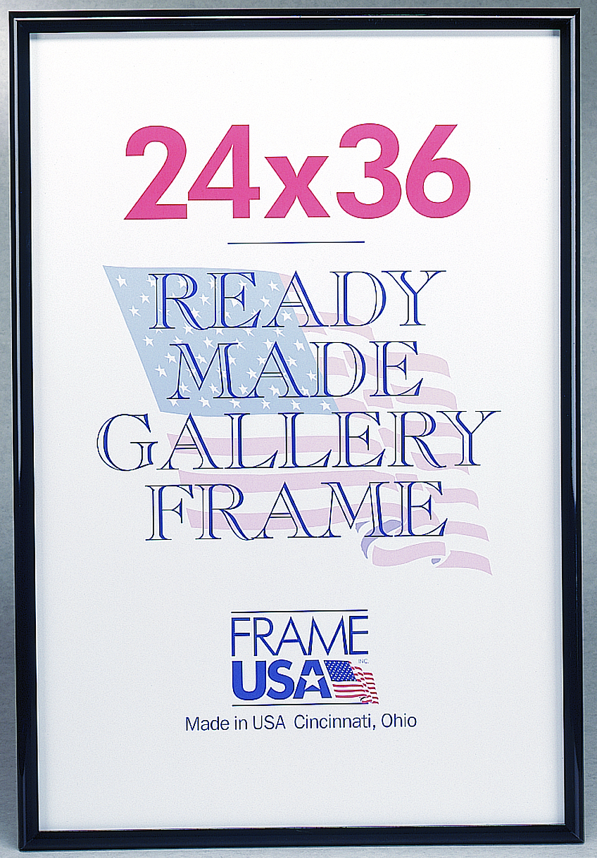 Make your own poster frames cheap