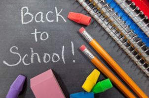 August Means Back to School!