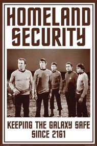 "Star Trek ""Homeland Security"" Poster from Posterservice"