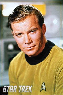 Captain Kirk Poster from Posterservice