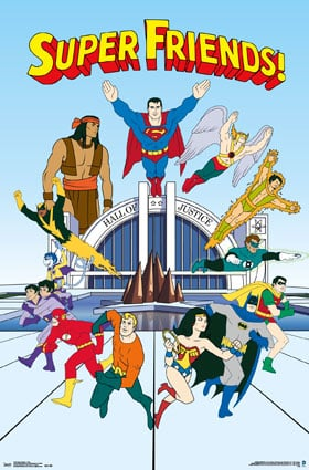 Superfriends Poster