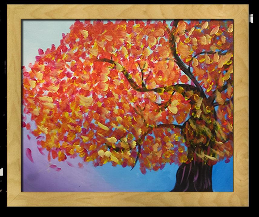 Lindsays framed canvas
