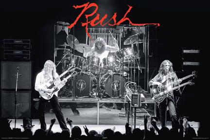 Rush Hiemispheres poster