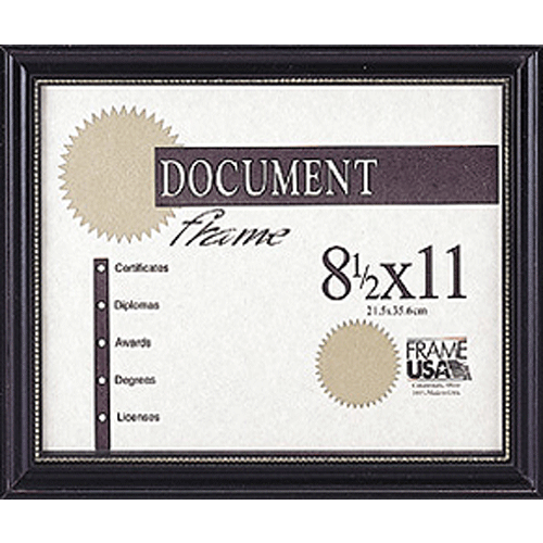 Boardroom Certificate Black w/Gold