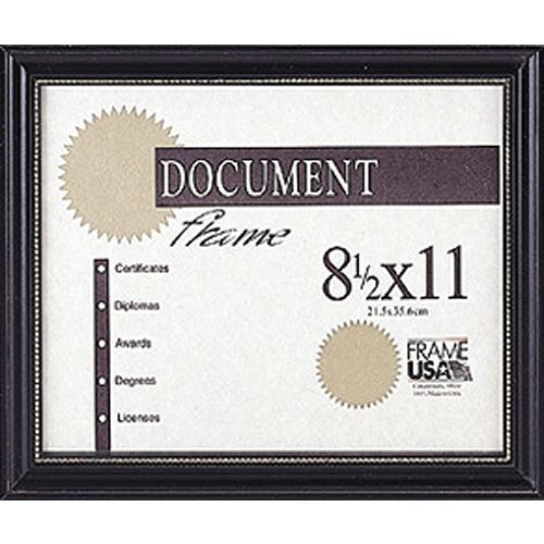 Boardroom Certificate Black w/Gold