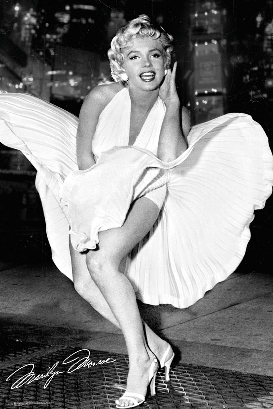 Marilyn Monroe Posters - An American Icon