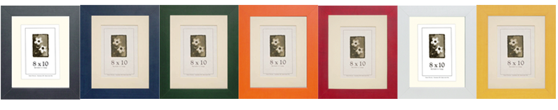 Colori Wood Picture Frames
