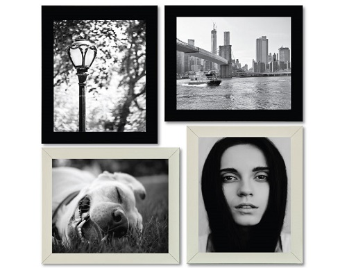 Black and White Picture Frame -- Black and White Photography