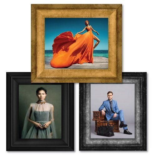 Fashion Photography - Verona Wide Picture Frame
