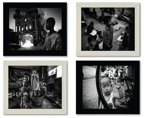 Photojournalism Photography - Black and White Picture Frames