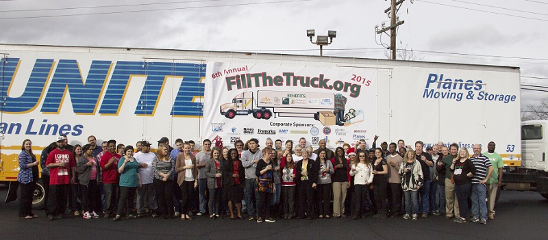 2015 Fill The Truck Group Photo
